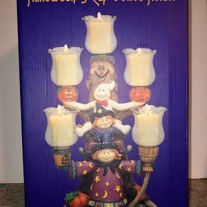 Halloween 5 Cup Votive Candle Holder